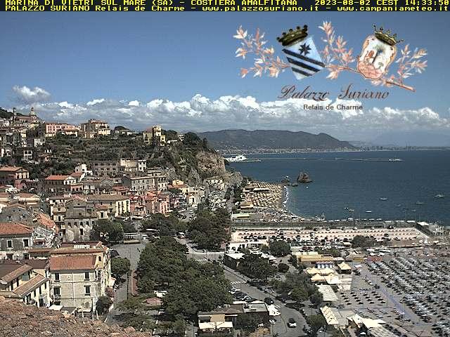 Vietri sul Mare webcam - Palazzo Suriano webcam, Campania, Salerno